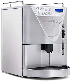 Steel/White,Side view,  Automatic washing programEffective grinding, Nuova Simonelli Microbar Super Automatic
