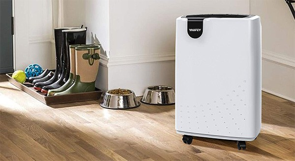 Home Uses, Yaufey 30 Pint Dehumidifier, White Color