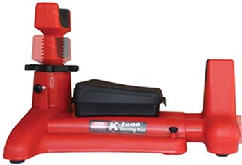 Red, Front and rear shooting pads, MTM K-Zone Shooting Rest KSR-30