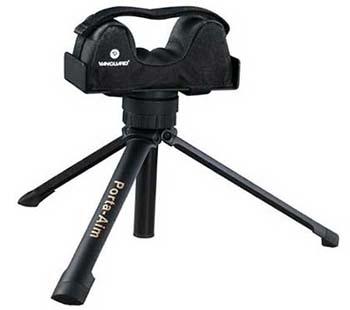 Black, Compact design , Vanguard Porta-Aim Gun Res
