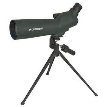 Green, Refractor Optical Design, Celestron 60mm Zoom 45° Telescope
