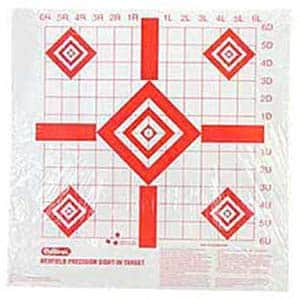 Hunting range gear targets, Precision Sight-In Target, Champion Redfield