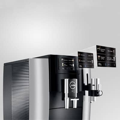 Jura E8 Espresso Machine Display