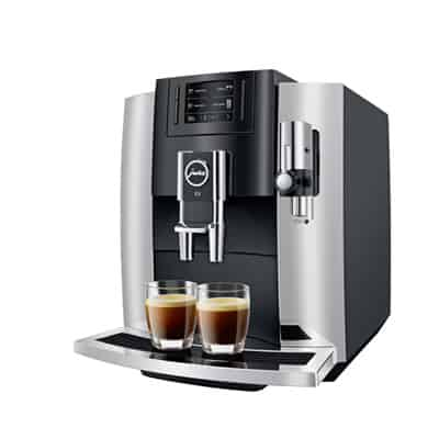 Jura E8 Coffee Center Stainless Steal Finish
