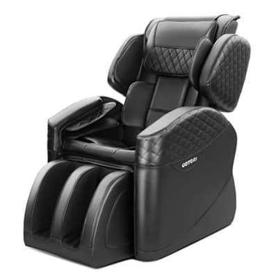 N500 Pro Massage Chair Side Black