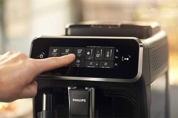 Philips 3200 Espresso Machine Front Features
