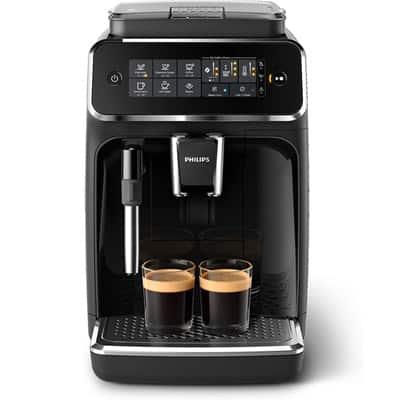 Philips 3200 Series Espresso Machine Front Two Espresso shots