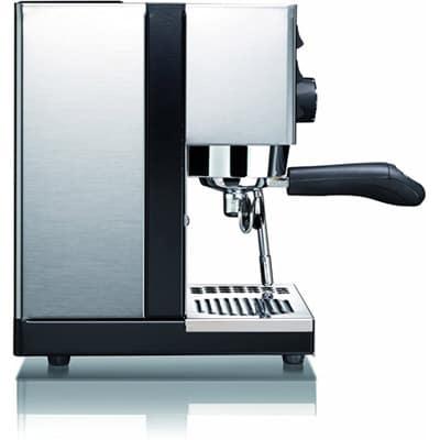 Rancilio Silvia Espresso Machine left side