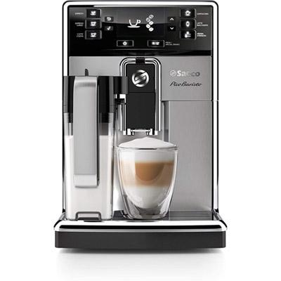 Saeco Picobaristo Carafe Super-automatic Espresso Machine Front Stainless Steel