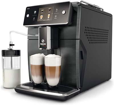 Xelsis Espresso Machine Side