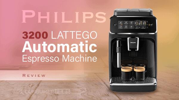Philips 3200 LatteGo Automatic Espresso Machine