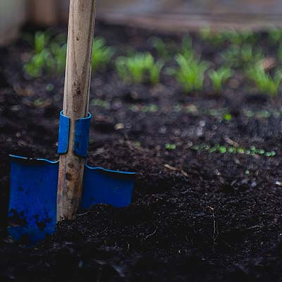 How to Grow Your Own Survival Garden digger image view