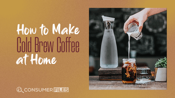 Pouring Milk into Cold Brew Coffee