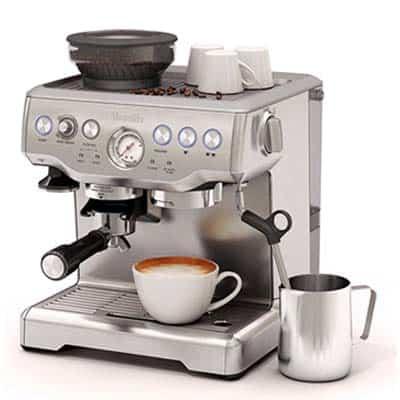 Breville Barista Express BES870XL Espresso Machine Front