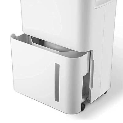Dehumidifier water bucket