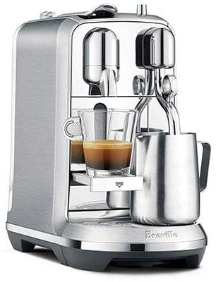Breville Nespresso Creatista Plus Rightfront