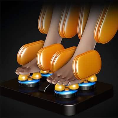 Ootori Nova N500 Zero Gravity Massage Chair Calf and Legs Roller