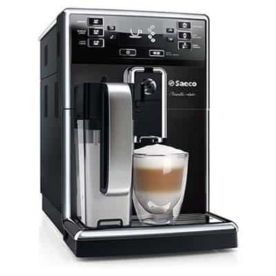 Saeco PicoBaristo Super-Automatic Espresso Machine Piano Black