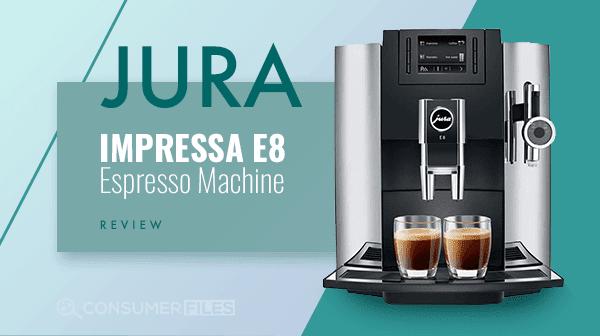 Jura Impressa E8 Espresso Machine
